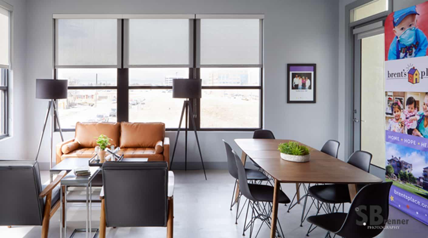 Bp Office Living Denver Interior Designers Duet Design Group